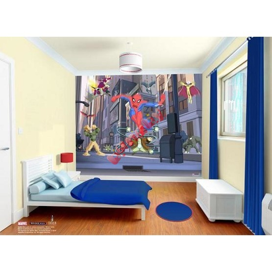 Tapeta 3D SPIDERMAN SPECTACULAR
