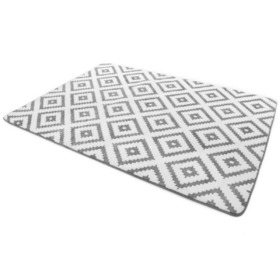 Dywan 3D DIAMOND GREY & WHITE, Podlasiak