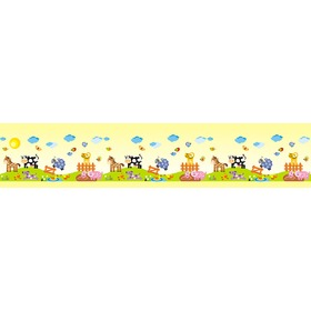 Border - FARMA M3 0,5 m2, Mint Kitten