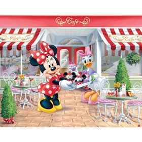 Tapeta 3D Minnie, Walltastic, Minnie Mouse