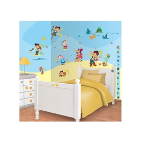 Naklejki Disney Jake i Piraci, Walltastic, Jake and the Never Land Pirates