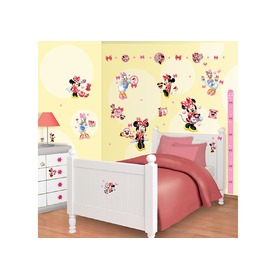 Naklejki Disney Minnie Mouse, Walltastic, Minnie Mouse
