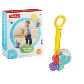 Słonik pchacz z piłeczkami Fisher Price, Fisher Price
